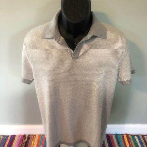 Banana Republic Polo Stripe Shirt Rugby Ringer